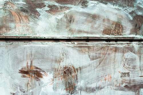 grey brown wooden board art