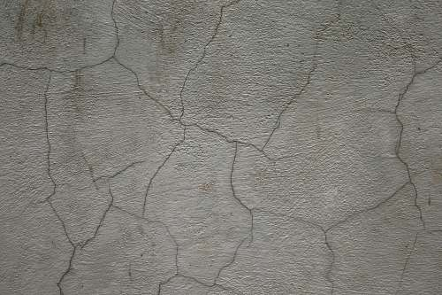 grey cracked wall concrete