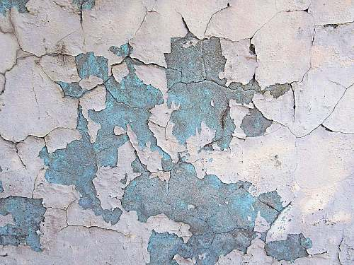 diagram cracked wall with paint peeling off map