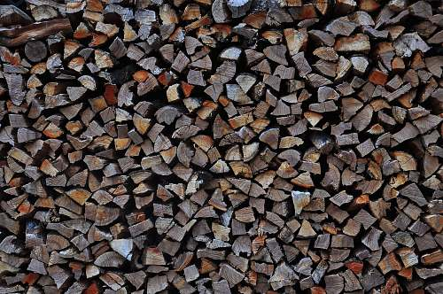 photo pebble filed gray firewoods pile free for commercial use images