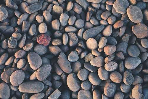 nature gray stone lot pebble