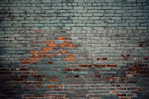 background gray wall paint brick