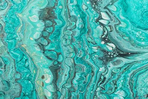 pattern green illustration rock