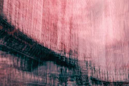 pink pink and black abstract painting nature