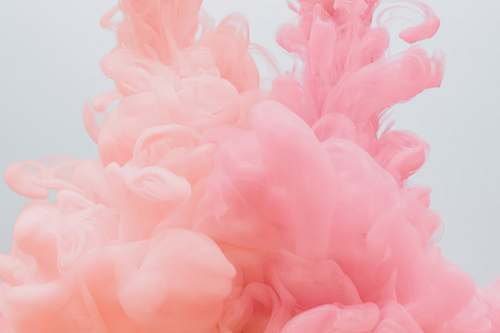 pink pink smoke background