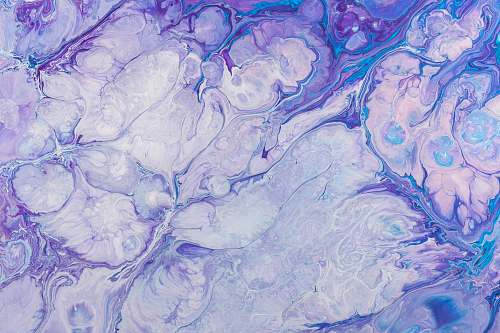 pattern purple fluid abstract painting painting