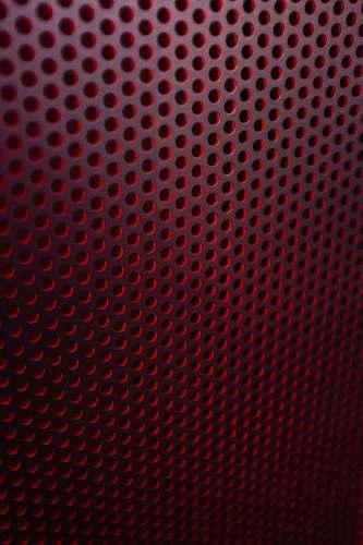 rug red and white polka dot textile light