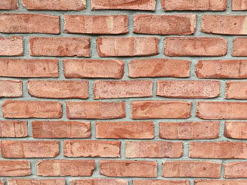 brick red brick wall during daytime house
