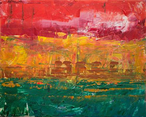 photo art ship abstract painting modern art free for commercial use images