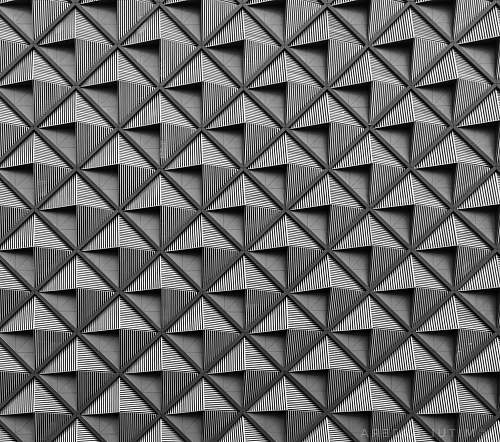 photo black-and-white white and black concrete building triangle free for commercial use images
