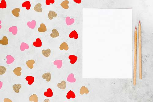 photo rug white red and blue heart illustration polka dot free for commercial use images
