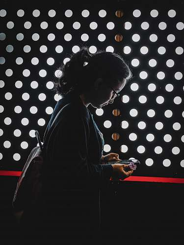 human woman wearing grey coat person