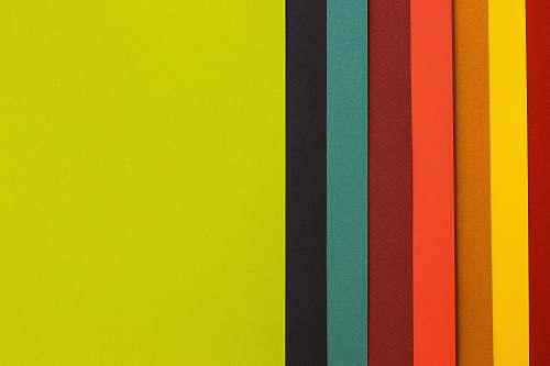 paper yellow, black, green, and orange digital wallpaper color
