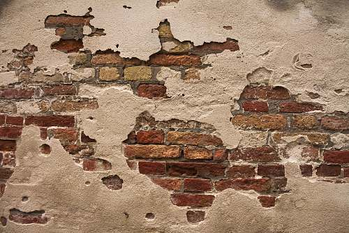 brick brown brick wall closeup photography italy