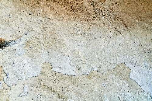 soil gray concrete wall ground