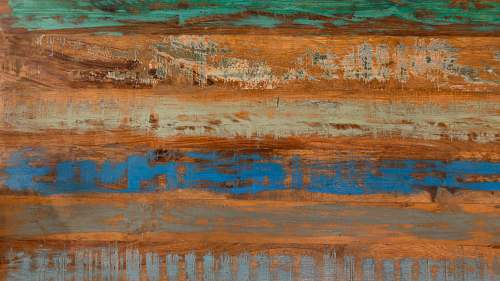 texture brown, blue, and green abstract painting london