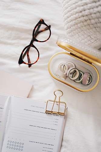 accessories black eyeglasses text