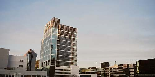 building architectural photography of white and brown concrete building newark