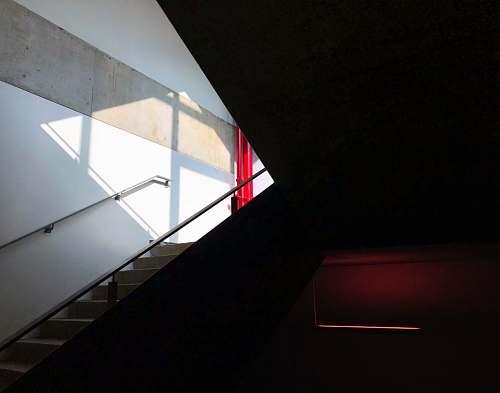 building concrete staircase john molson school of business