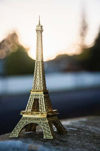 tower Eiffel Tower miniature building