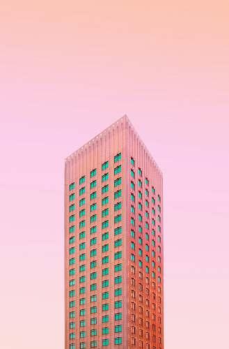 skyscraper low-angle photo of building rotterdam