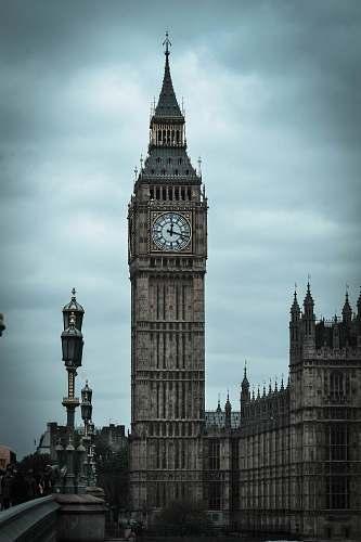 tower photography of Big Ben, London clock tower