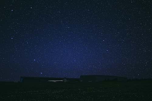 night starry sky at night canada
