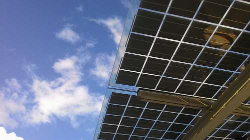 photo sky  solar panels free for commercial use images