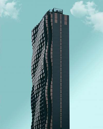architecture black high-rise building during daytime skyscraper