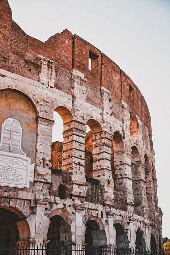 photo architecture Coliseum Rome, Italy ruins free for commercial use images