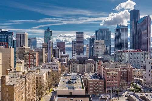 city landscape photo of a city skyline downtown