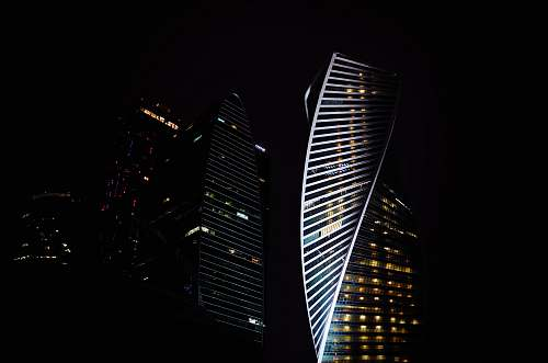 architecture photo of high-rise building urban