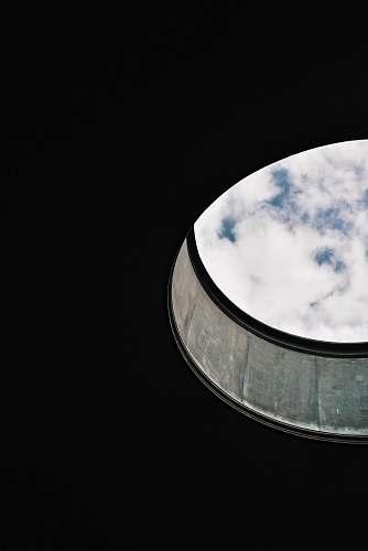 architecture white sky window