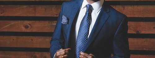 suit man wearing blue suit fashion
