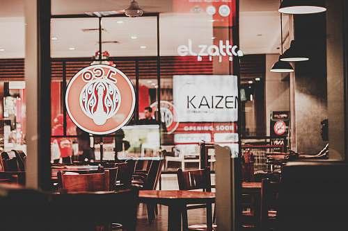 cafe Jco signage restaurant