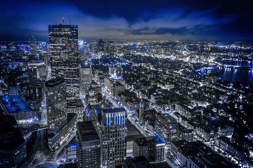 building areal photography of cityscape aerial view