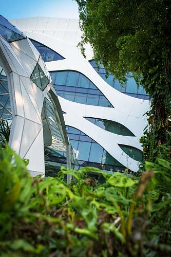 singapore low angle photography of glass building jar