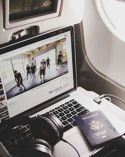 boston black headphones on MacBook Pro united states