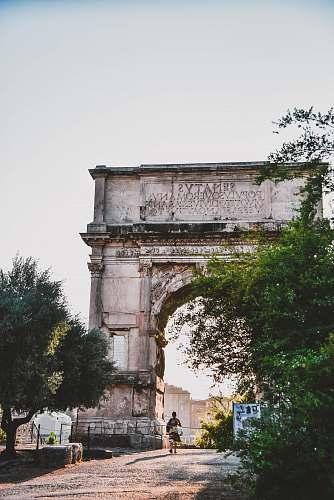 building arch de triomphe architecture
