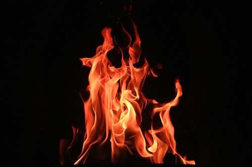 fire red fire digital wallpaper flame