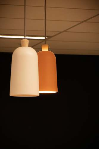 photo lampshade white and brown pendant lmaps light fixture free for commercial use images