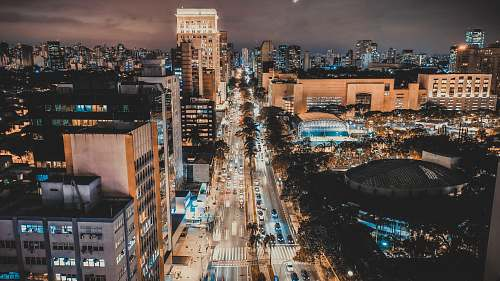 nature time lapse photography of street and buildings outdoors