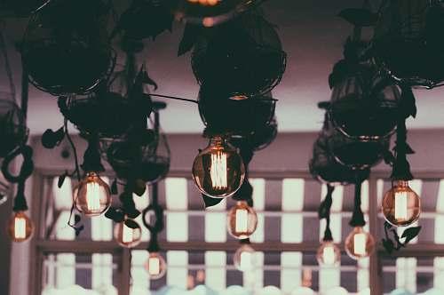glow pendant lamp lot filament