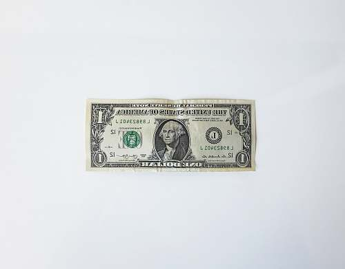 photo dollar 1 U.S. dollar banknote finance free for commercial use images