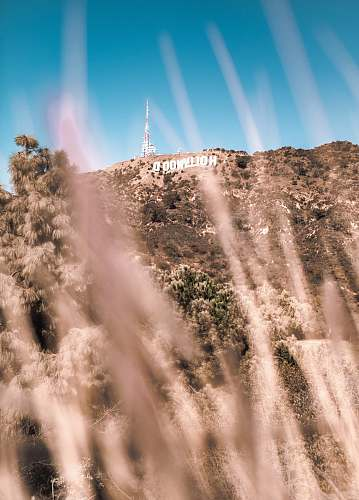 outdoors Hollywood, California mountain