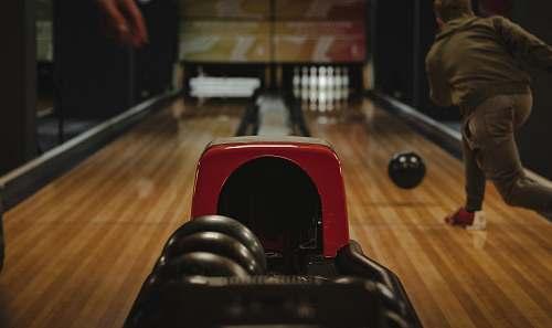 human person playing bowling bowling