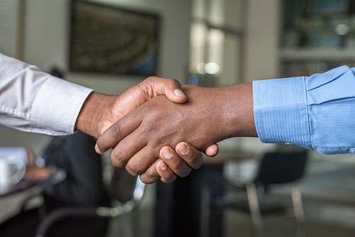 hand two people shaking hands handshake