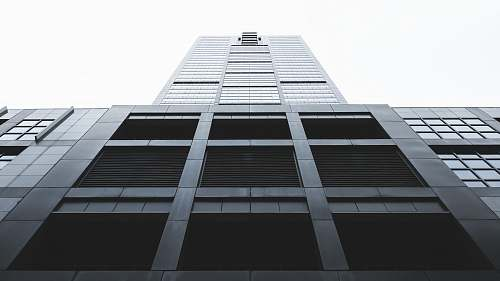 building low angle photography of high-rise building architecture