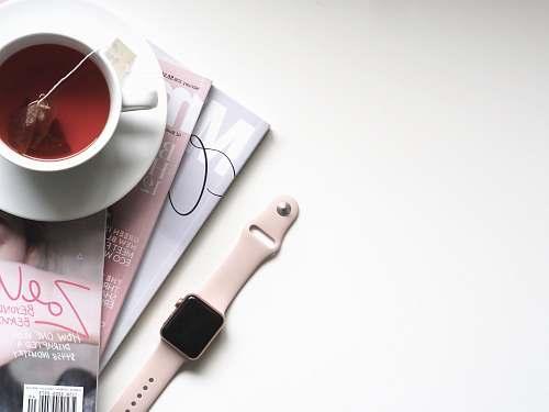 drink rose gold Apple Watch beverage