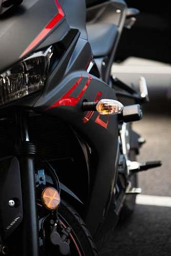motorcycle black sports bike vehicle